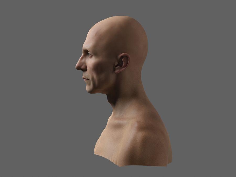 Joseph Goebbels royalty-free 3d model - Preview no. 6