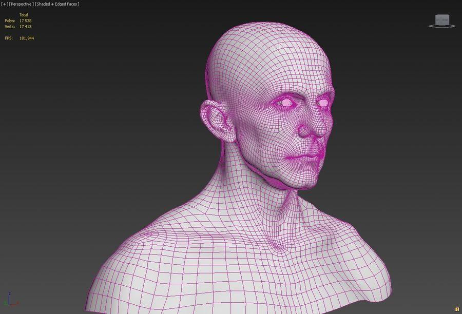 Joseph Goebbels royalty-free 3d model - Preview no. 8