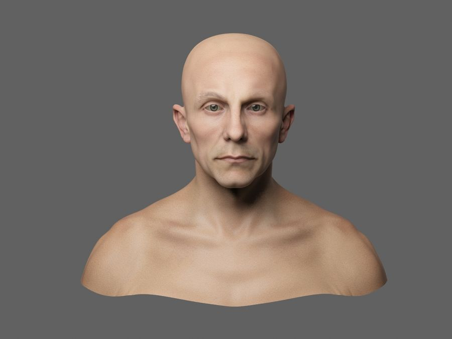 Joseph Goebbels royalty-free 3d model - Preview no. 2