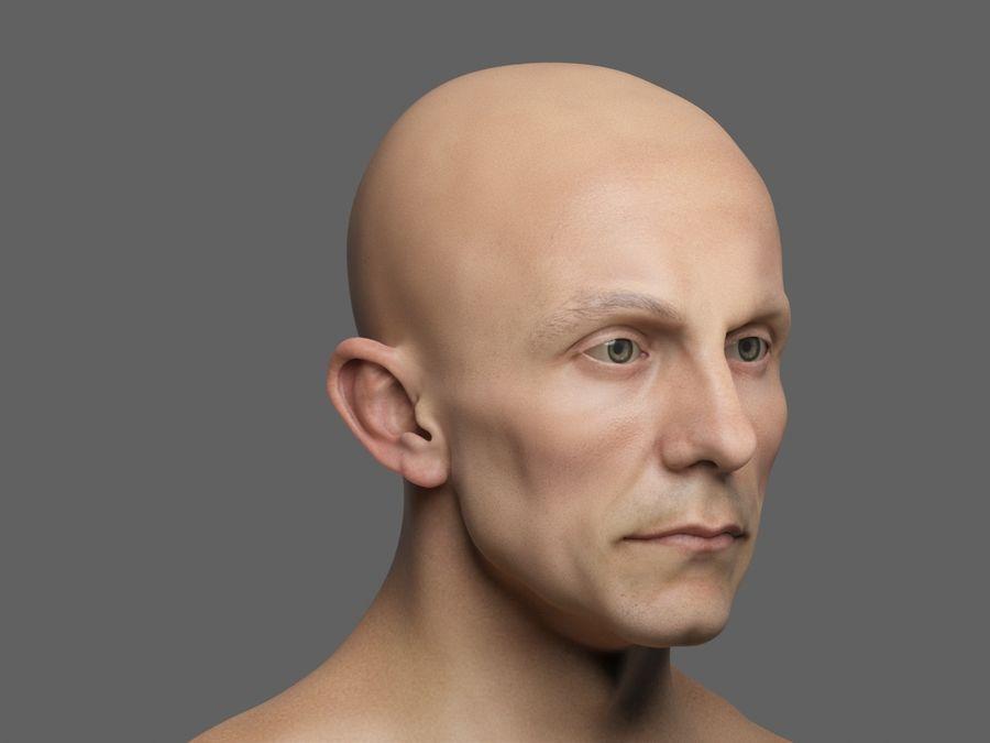 Joseph Goebbels royalty-free 3d model - Preview no. 1