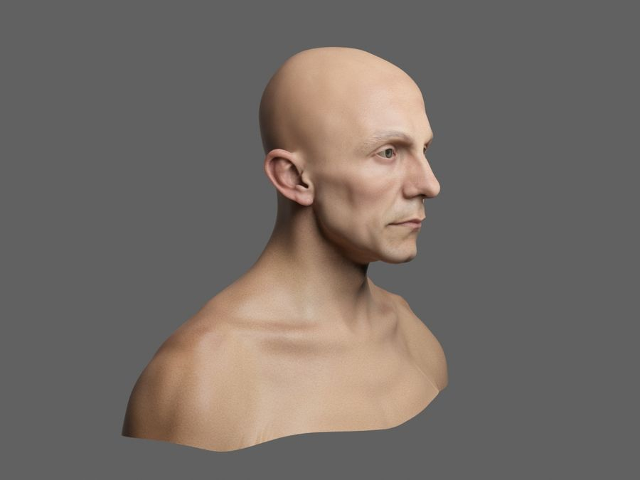 Joseph Goebbels royalty-free 3d model - Preview no. 3