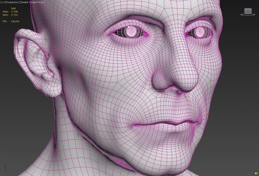 Joseph Goebbels royalty-free 3d model - Preview no. 10