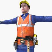 Realtime Worker Set 3d model