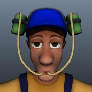 Personnages du jeu 3d model
