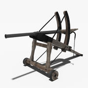 Średniowieczna Bazooka 3d model