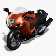 하야부사 오토바이 3d model