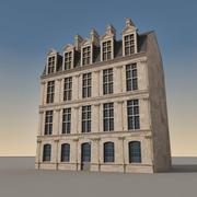 European Building 113 3d model