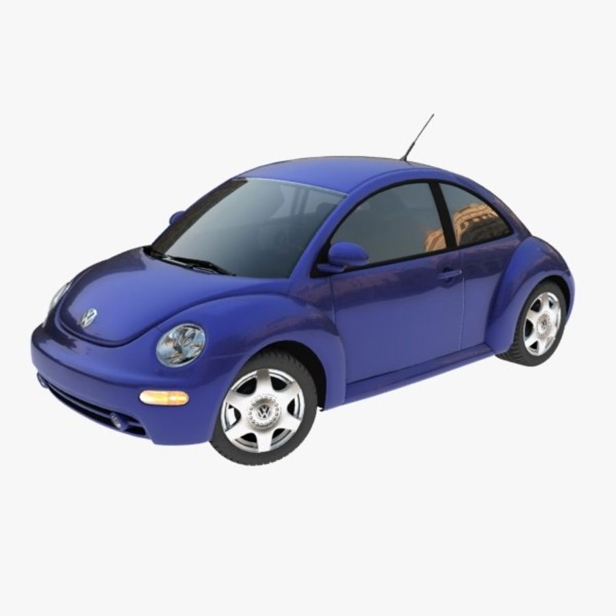 VW New Beetle royalty-free modelo 3d - Preview no. 1