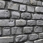 Bricks wall #13 3d model