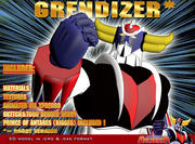 Grendizer (versão robô) 3d model