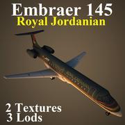 E145 RJA 3d model