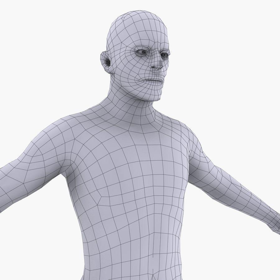 인체 해부학 신체 남성 (피부 만) royalty-free 3d model - Preview no. 23
