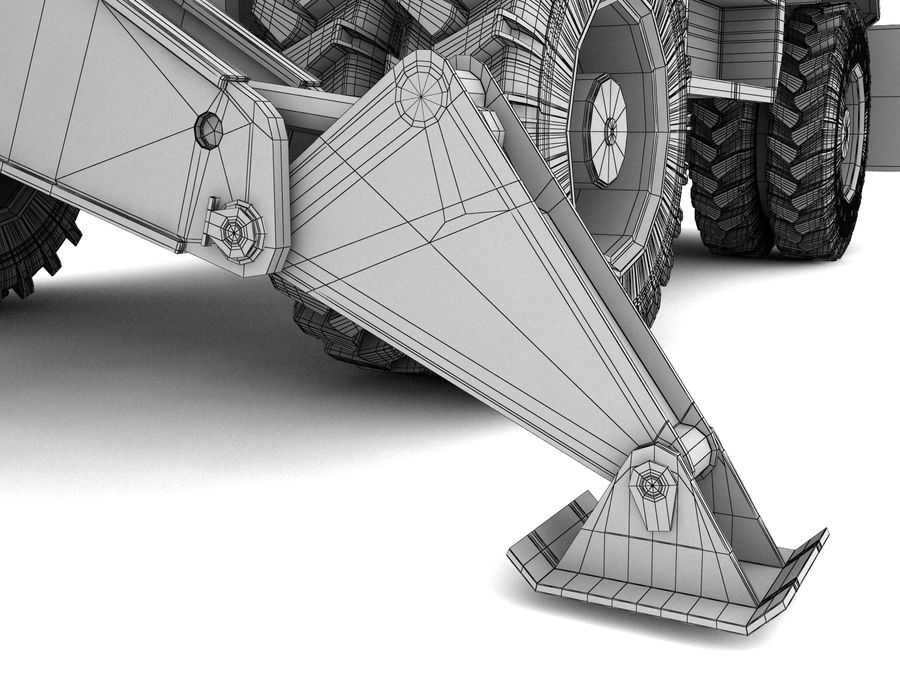 Graafmachine royalty-free 3d model - Preview no. 16
