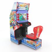 Máquina de arcade de corrida de simulador Kart 3d model