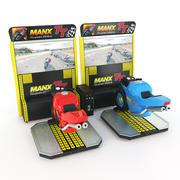 Simulador Moto Racing Arcade Machine 3d model