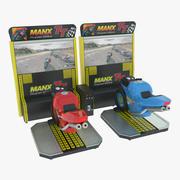 Symulator Moto Racing Arcade Machine 3d model