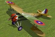 Nieuport 28 3d model
