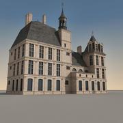 欧洲建筑103 3d model