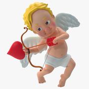Cupido dos desenhos animados 3 3d model