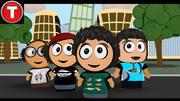 cartoon_Friends 3d model