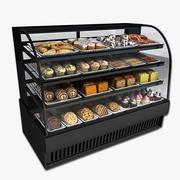糕点盒 3d model