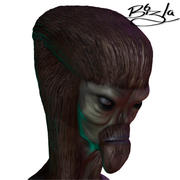 외계인 장군 3d model