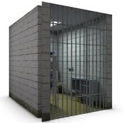 Cela de prisão 3d model