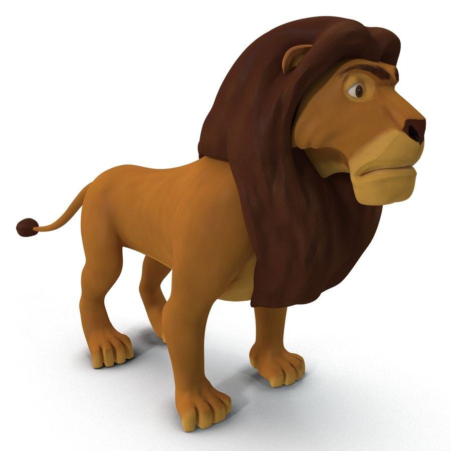 Lion De Dessin Anime Modele 3d 79 C4d Obj 3ds Max Ma Free3d