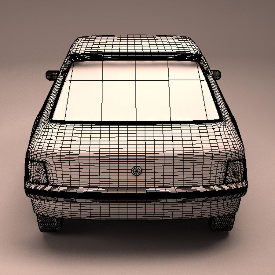 Compact Car royalty-free 3d model - Preview no. 25