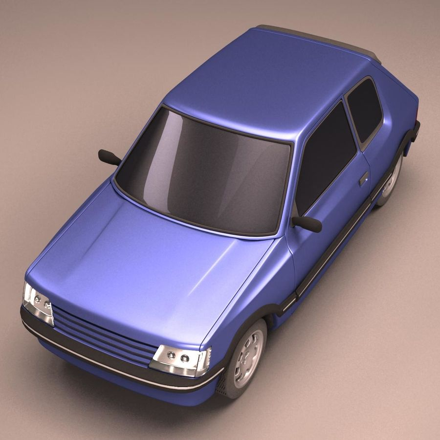 Compact Car royalty-free 3d model - Preview no. 13