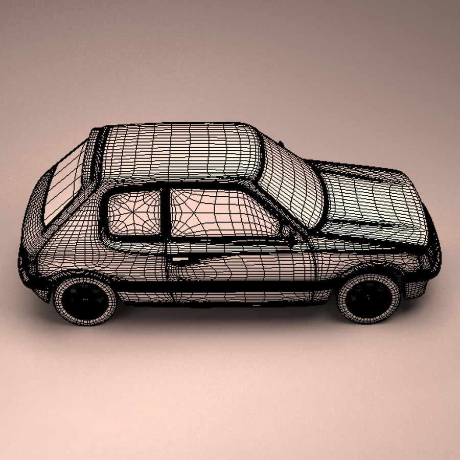 Compact Car royalty-free 3d model - Preview no. 19