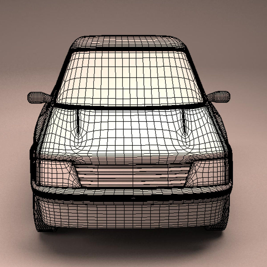 Compact Car royalty-free 3d model - Preview no. 21