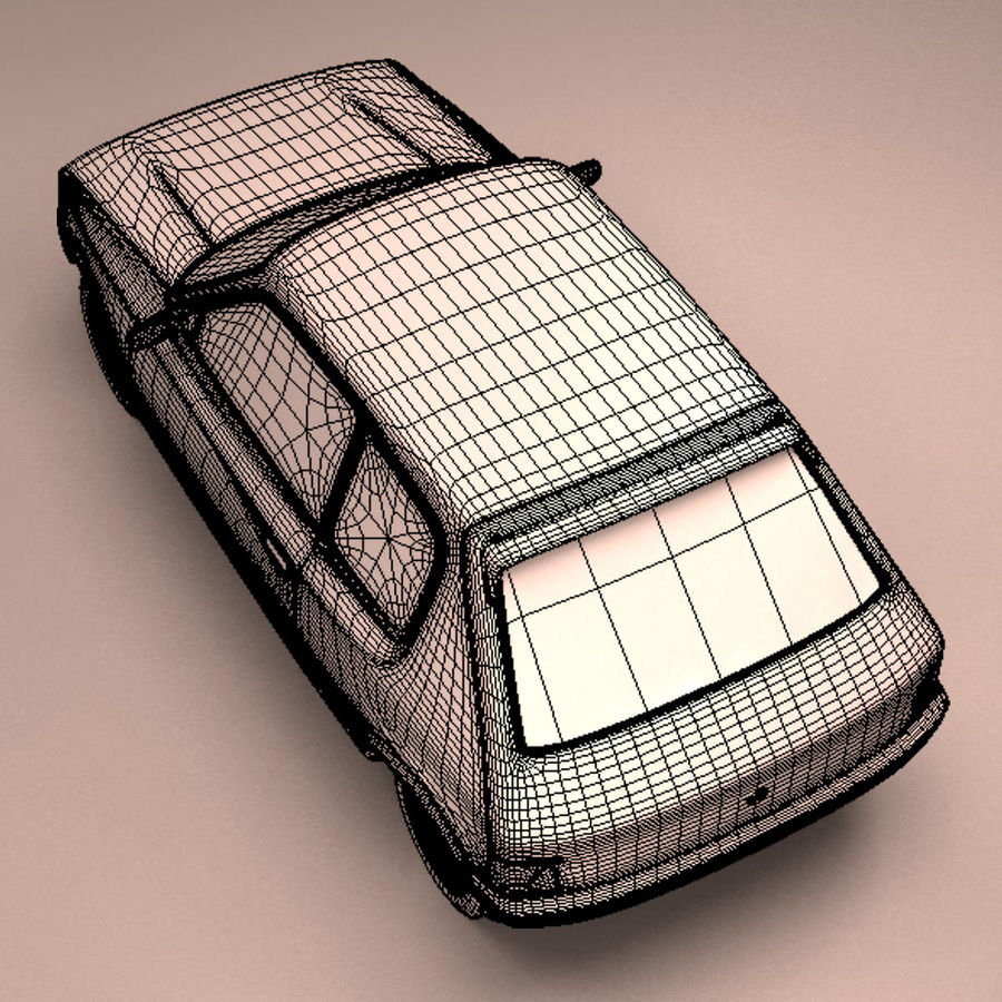 Compact Car royalty-free 3d model - Preview no. 27