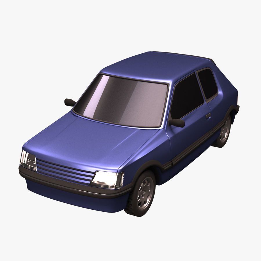 Compact Car royalty-free 3d model - Preview no. 1