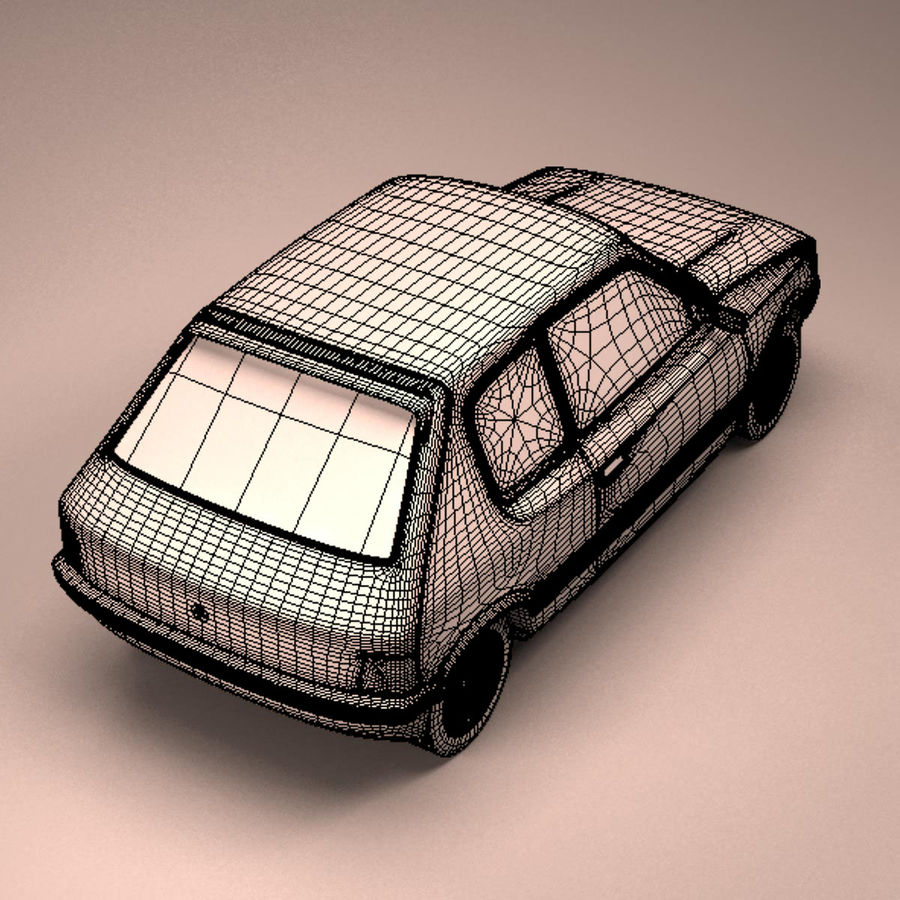Compact Car royalty-free 3d model - Preview no. 18
