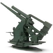 Uçaksavar Silahı 3d model
