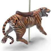 Tigre Carosello 3d model
