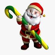 Santa Claus 3D-Modell 3d model