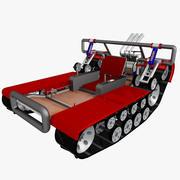 Snow Cart 3d model