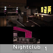 Stonette Nightclub Collection 1 3d model