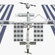 国际空间站 3d model