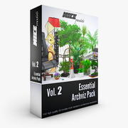NICEMODELS Vol 2 - Essential Archviz Pack 3d model