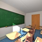 Klasa 3d model