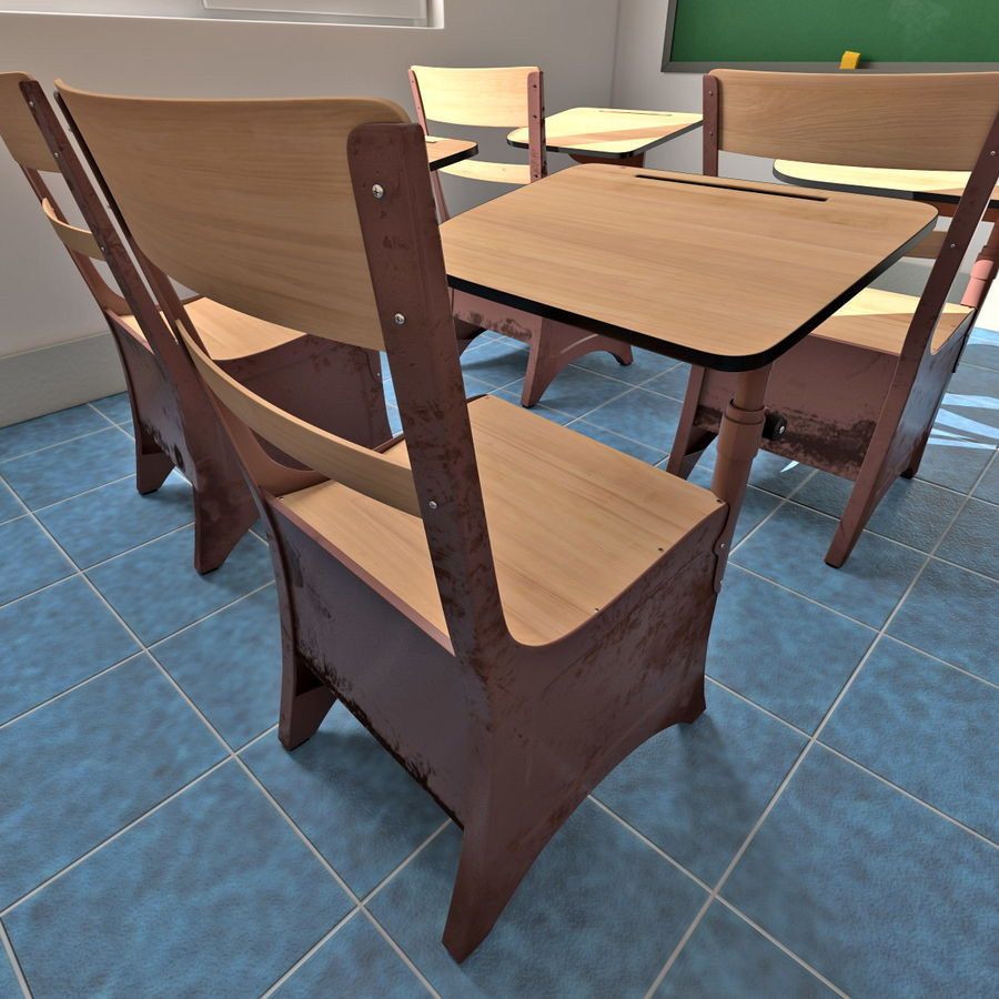 Klasa royalty-free 3d model - Preview no. 14