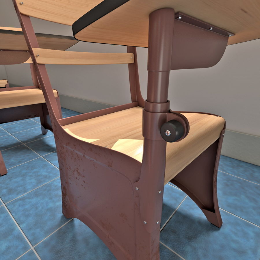 Klasa royalty-free 3d model - Preview no. 15
