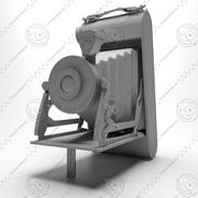 Vecchia macchina fotografica (1) 3d model