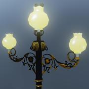 Lámpara del cielo modelo 3d