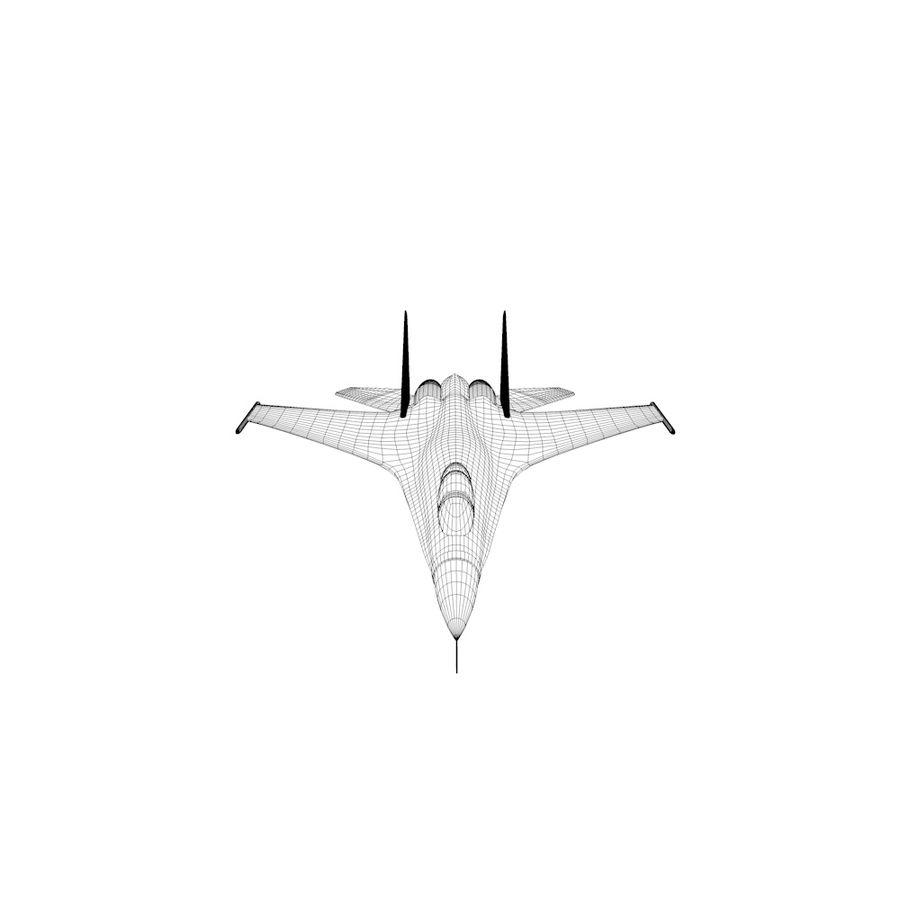 전투기 / 비행기 / 항공기 royalty-free 3d model - Preview no. 4