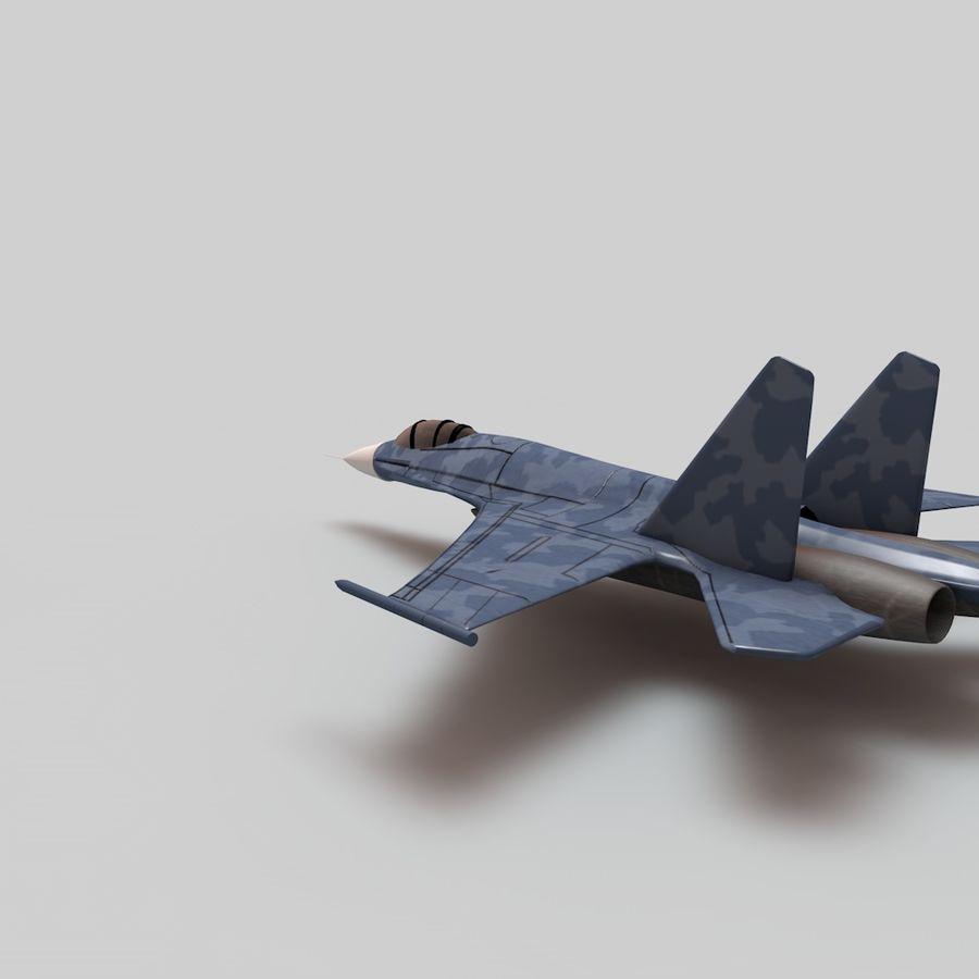 전투기 / 비행기 / 항공기 royalty-free 3d model - Preview no. 2
