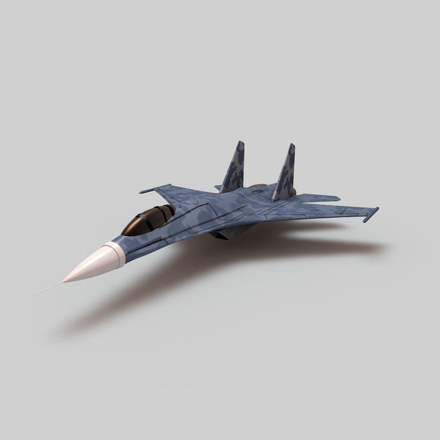 전투기 / 비행기 / 항공기 royalty-free 3d model - Preview no. 1